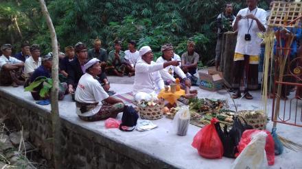 Upacara Melaspas Masing-Masing Pura Subak Desa Nagasepaha